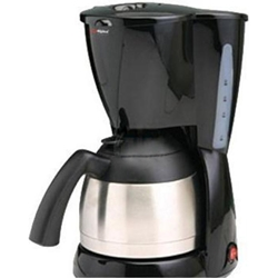 Alpina 220 Volt 10-Cup Stainless Steel Coffeemaker (NOT FOR USA) Europe Asia UK