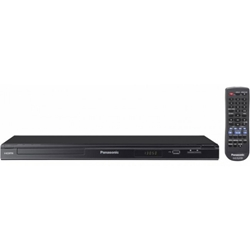Panasonic DVD-S68EPK Multi Region Code Free DVD Player PAL NTSC HDMI Upscaling