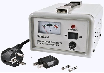 Simran SMVS500 500 W Watts Voltage Converter with Stabilizer