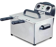 Alpina NEW 220 Volt Twin Bowl Deep Fryer 220v for Europe Asia UK