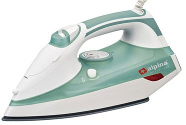 Alpina 220 Volt Steam Iron Auto Shutoff for Europe UK Asia 220V 240V