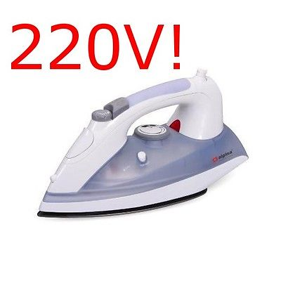 Alpina Auto-Shut-off Steam Iron 220v 240V European Voltage Plug