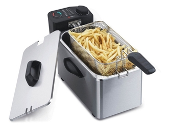 Alpina NEW 220 Volt 3.5L Deep Fryer for Europe UK Asia Africa 220V 240V sf-4003 SF4003