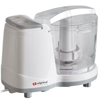 Alpina NEW 220 Volt Mini Food Chopper Processor (NOT FOR USA) for Europe Asia UK