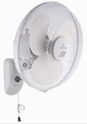 "Black And Decker FW1600 16"" 220 Volt Wall Fan (NON-USA) 220V 240V 50 60 HZ"