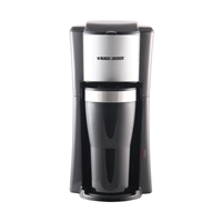 Black And Decker 220 Volt 1-Cup Coffeemaker w/2 Mugs - CM618 Black And Decker CM618, 220-240 VOLT, 220V, 220-240, 240V, 220V COFFEEMAKER, 220 COFFEEMAKER, 220 VOLT COFFEEMAKER