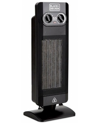 Black And Decker 220 Volt Vertical Fan Heater HX340 220v Portable Room Heater