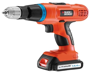 Black And Decker EPL148K Cordless Drill 220 240 Volt 50Hz 14.4V Heavy Duty