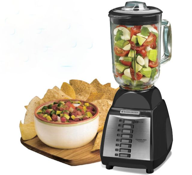 BLACK & DECKER BLP7600 220 Volt 3 Speed Blender with Glass Jar