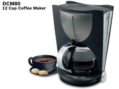 Black And Decker DCM80 12-Cup 220 Volt Coffee Maker For Export Overseas Use Only