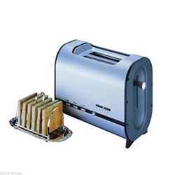 Black And Decker LET82 220 Volt Toaster For Overseas Use Power Cord 220V 240V