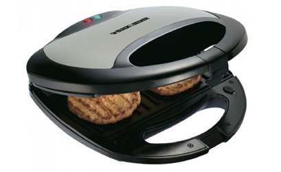 Black And Decker TS2020 220v 2-Slice Sandwich Maker 220 240 Volt 50 60 Hz