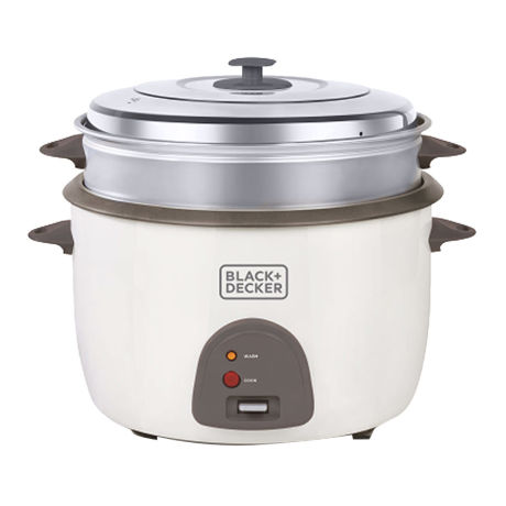 Black & Decker RC4500 220 Volt Rice Cooker 4.5L Auto Warm Function (NON-USA)