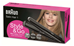 "Braun NEW 0.5"" MINI Ceramic Dual Voltage Compact Hair Straightener for World Use"