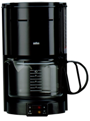 Braun KF47 220 Volt 10 Cup Coffee Maker For Export (Not For Use in North America)