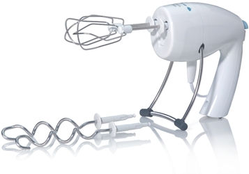 Braun M1000 220 Volt Hand Mixer w/Egg Beaters & Dough Hooks 220V Overseas USE