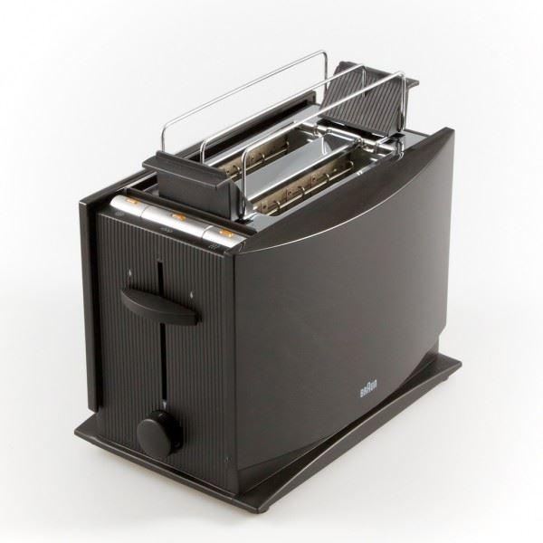 Braun Ht450 220 Volt 2 Slice Toaster With Bun Warmer