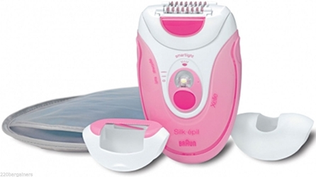 Braun Silk-Epil 5 Xelle 5380 Legs and Body Epilator Shaver Dual Voltage 110-220V (Worldwide Use)