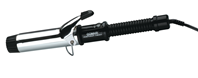 "Conair NEW 1.25"" Dual Voltage Chrome Curling Iron 110/220 Volt USE WORLDWIDE"