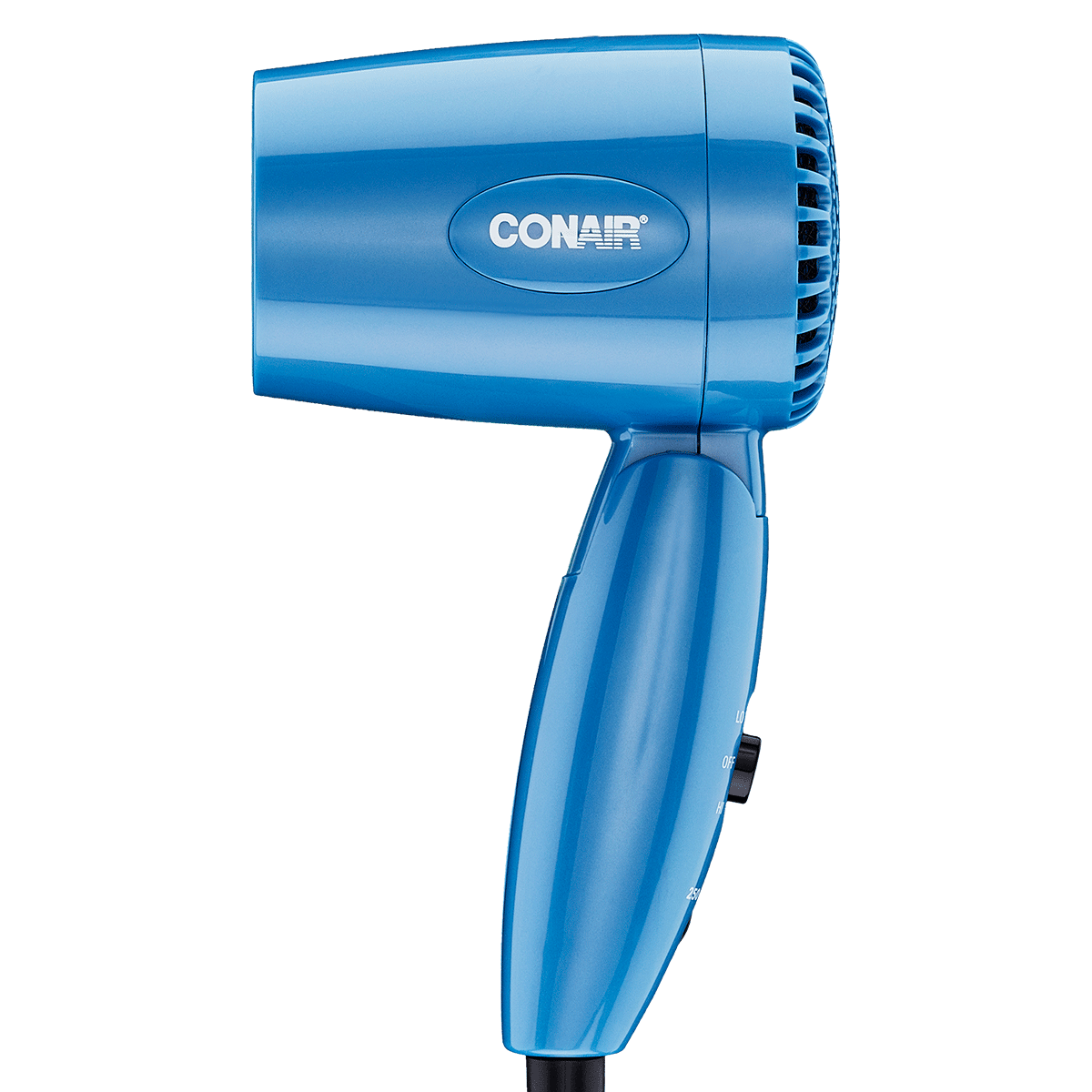 Conair 1600w Dual Volt Travel Folding Hair Dryer 110 220 For Worldwide Use