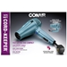Conair 289 1875W Travel Size Folding Hair Dryer Dual Voltage 110 220 Volt - 289