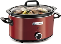 Crockpot 220 Volt Original 3.5L Slow Cooker - SCV400RD CROCKPOT SCV400, SCV400, ORIGINAL CROCKPOT, 220-240 VOLT, 220V, 220-240, 240V, CROCKPOT FOR EXPORT, SLOW COOKER FOR EXPORT, SLOW COOKER FOR OVERSEAS, CROCKPOT FOR OVERSEAS, INTERNATIONAL CROCKPOT, INTERNATIONAL SLOW COOKER, 220V CROCKPOT, 220 CROCKPOT, 220 VOLT CROCKPOT