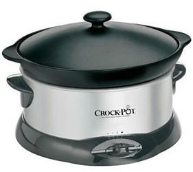 220 Volt Crockpot 4.7L Slow Cooker (NON-USA MODEL) 220v for Europe, Asia, Africa