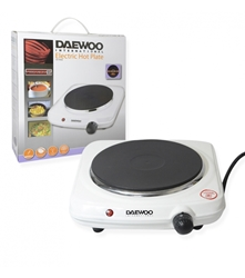 Daewoo 220 Volt Single Hot Plate Electric Burner 1500W Variable Heat Setting