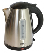 Daewoo Authentic DEK-1238 220V 1.7L Cordless Stainless Steel Kettle 220 240 Volt