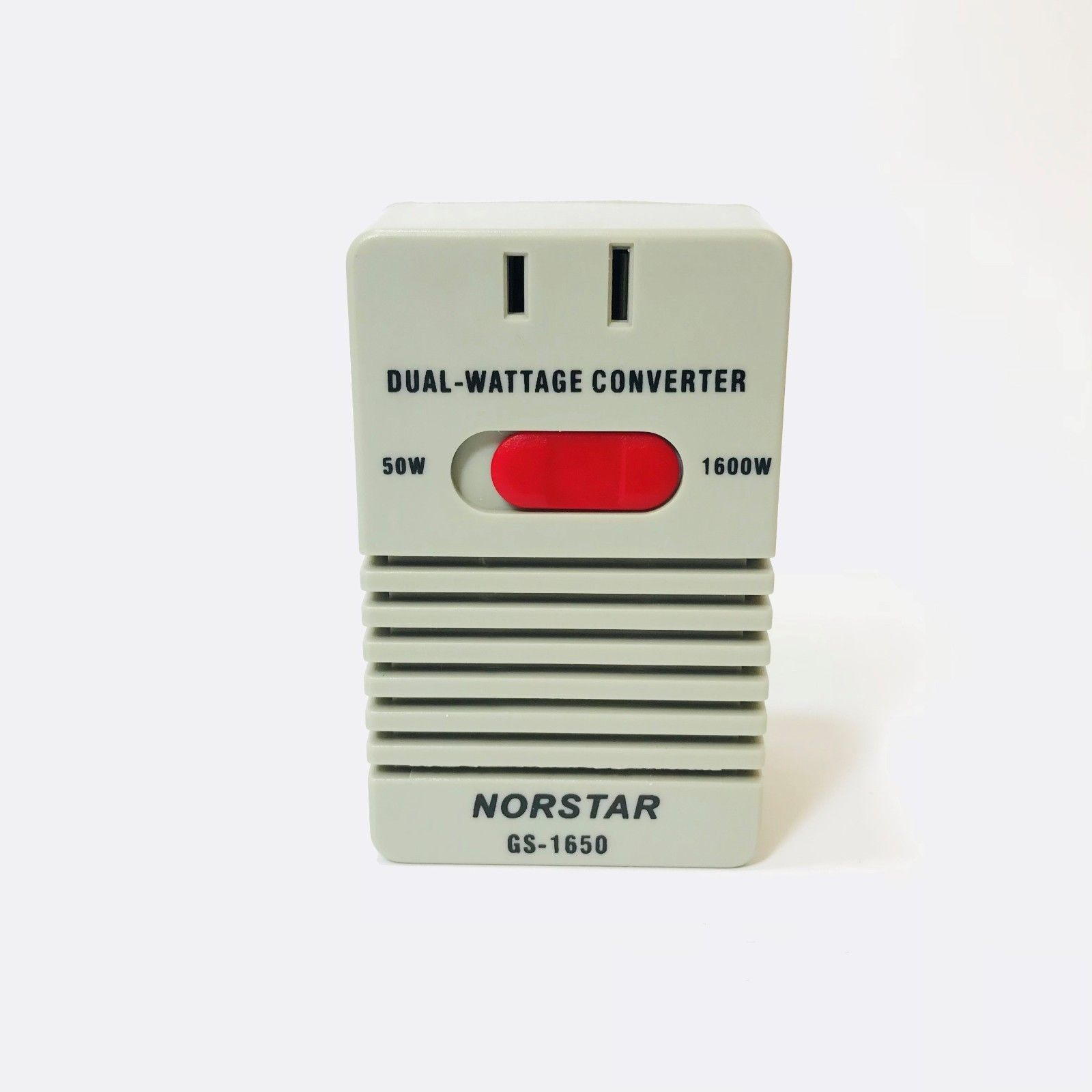 Norstar EU Europe to US USA 50-1650W Voltage Converter 220v to 110v Power Transformer
