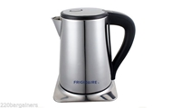Frigidaire FD2119 220 Volt Stainless Steel Kettle 220V 240V For OVERSEAS Use