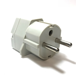 GS-18 Germany France Universal Plug Adapter Germany,France, Universal Plug Adapter,GS18,GS-18, 220V plug, electric plug adapter, adaptor, adapter plug, european plug, schuko plug