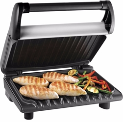 George Foreman 19920 Standard Size Grill - 220 240 Volt 220v for Overseas Only