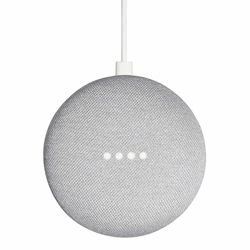 Google Home Mini Smart Speaker Powered by Google Assistant Chalk Grey