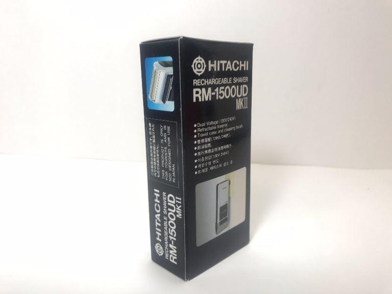 hitachi hitachi rm 1500ud rechargeable shaver dual voltage 120v rh dvdoverseas com