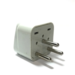 IS-400 Universal Grounded Plug for Israel israel plug, israel plug adapter, israel adapter, plug adaptor, israel adaptor, israel 220 plug, universal plug,Universal Grounded Plug for Israel IS400