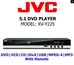 JVC All Region Code Free DVD Player! 5.1 Channel - Plays PAL NTSC Disc Worldwide - XV-Y225