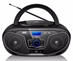 JVC RD-N327 Bluetooth Portable Radio and CD Player With USB and AUX Port 100-240 Volt WORLDWIDE USE - RD-N327