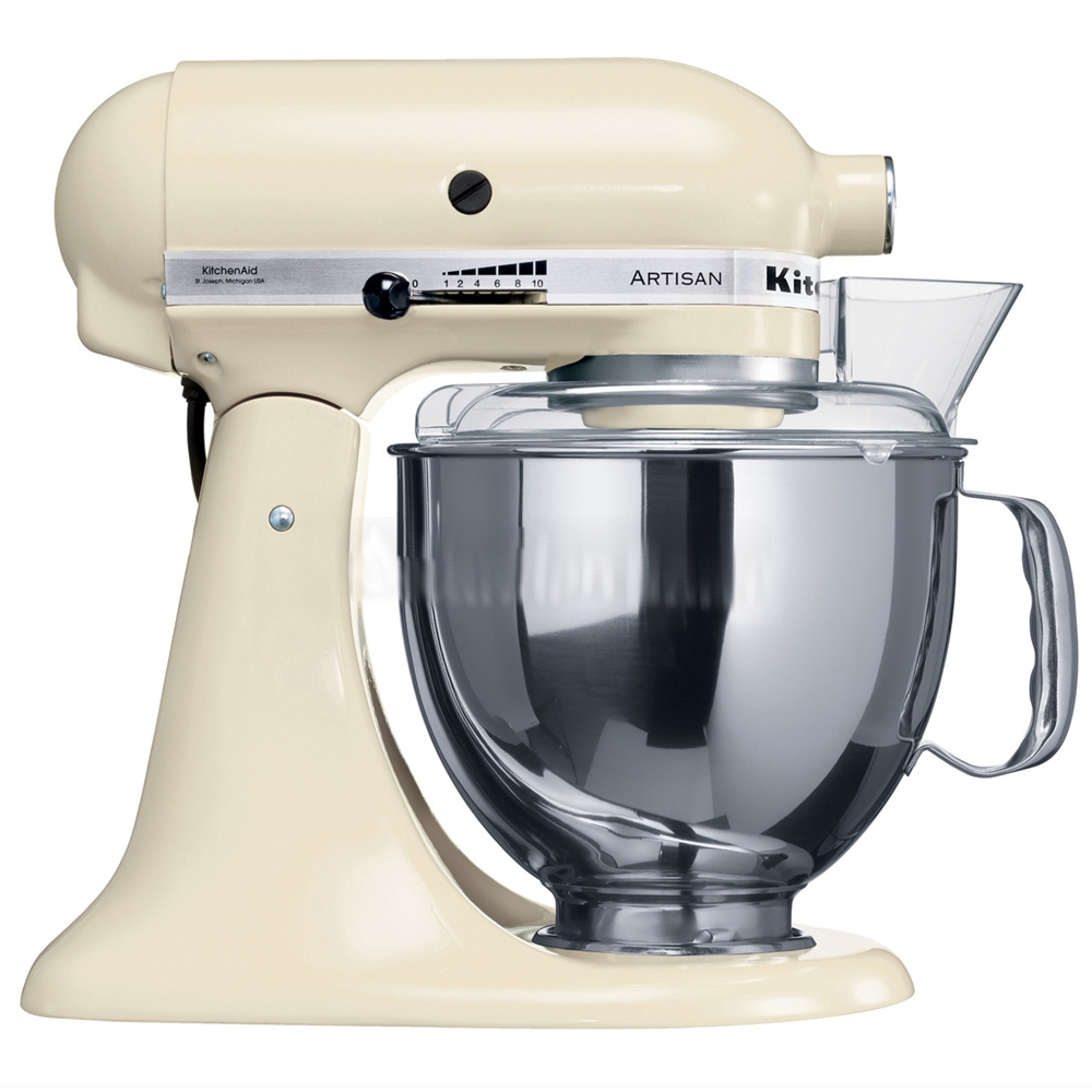 KitchenAid 220 Volt Almond Cream 4.8L Artisan Stand Mixer