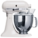 KitchenAid White 220 Volt 4.8L Artisan Stand Mixer 220V 300 Watt 10-Speed 5 QT