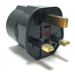 MKV-17 Europe Schuko to UK British Plug Adapter UK plug adapter,adapter plug,adaptor,plug socket,universal plug,adapters,switzerland,europe,asia,africa,india,uk,universal adapters,220 plug,220v adapter,220 volt adapter,220 adaptor