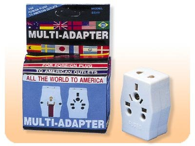 Multi-Input Adapter Plug For USA Outlet SS407 plug adapter,adapter plug,adaptor,plug socket,universal plug,SS407,sevenstar,adapters,switzerland,europe,asia,africa,india,uk,universal adapters,220 plug,220v adapter,220 volt adapter,220 adaptor
