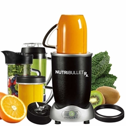 NutriBullet Rx Blending System 1700 Watt Blender Hands Free Smart Technology 120 Volts (FOR USE IN USA)