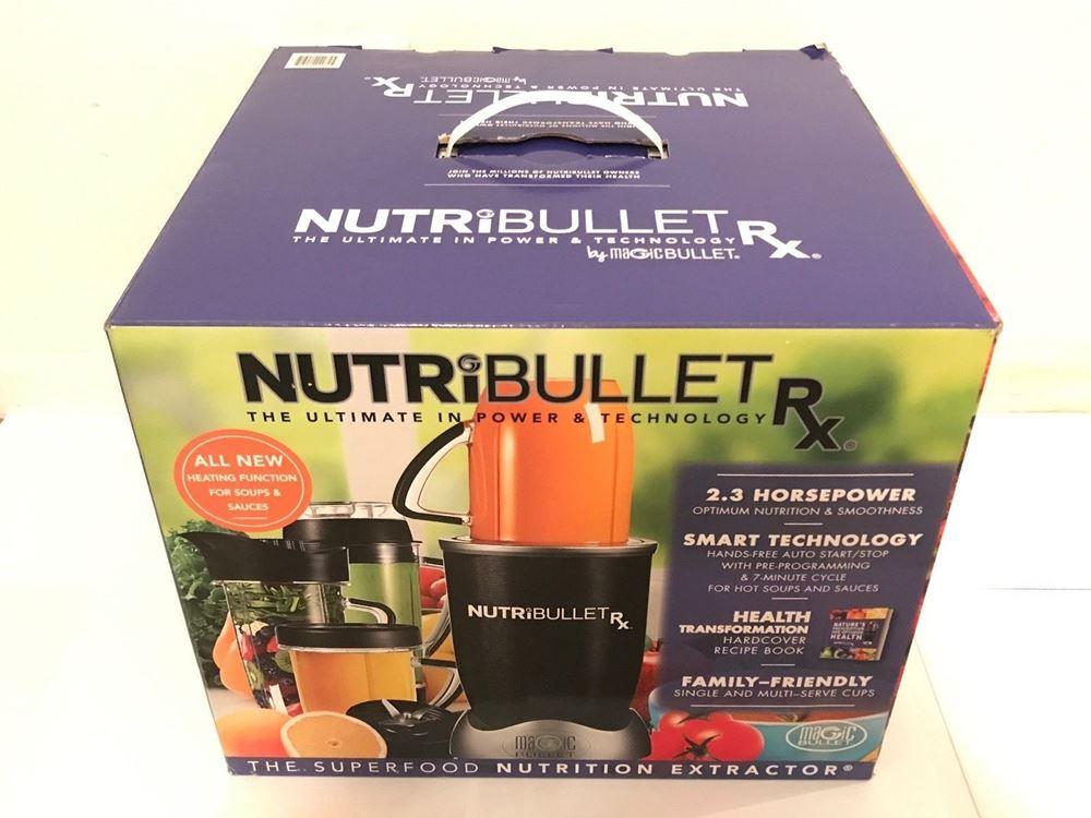 Nutribullet Rx Blending System 1700 Watt Blender Hands
