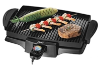 Oster 220 240 Volt Electric BBQ Indoor Grill Smokeless Variable Temp Control