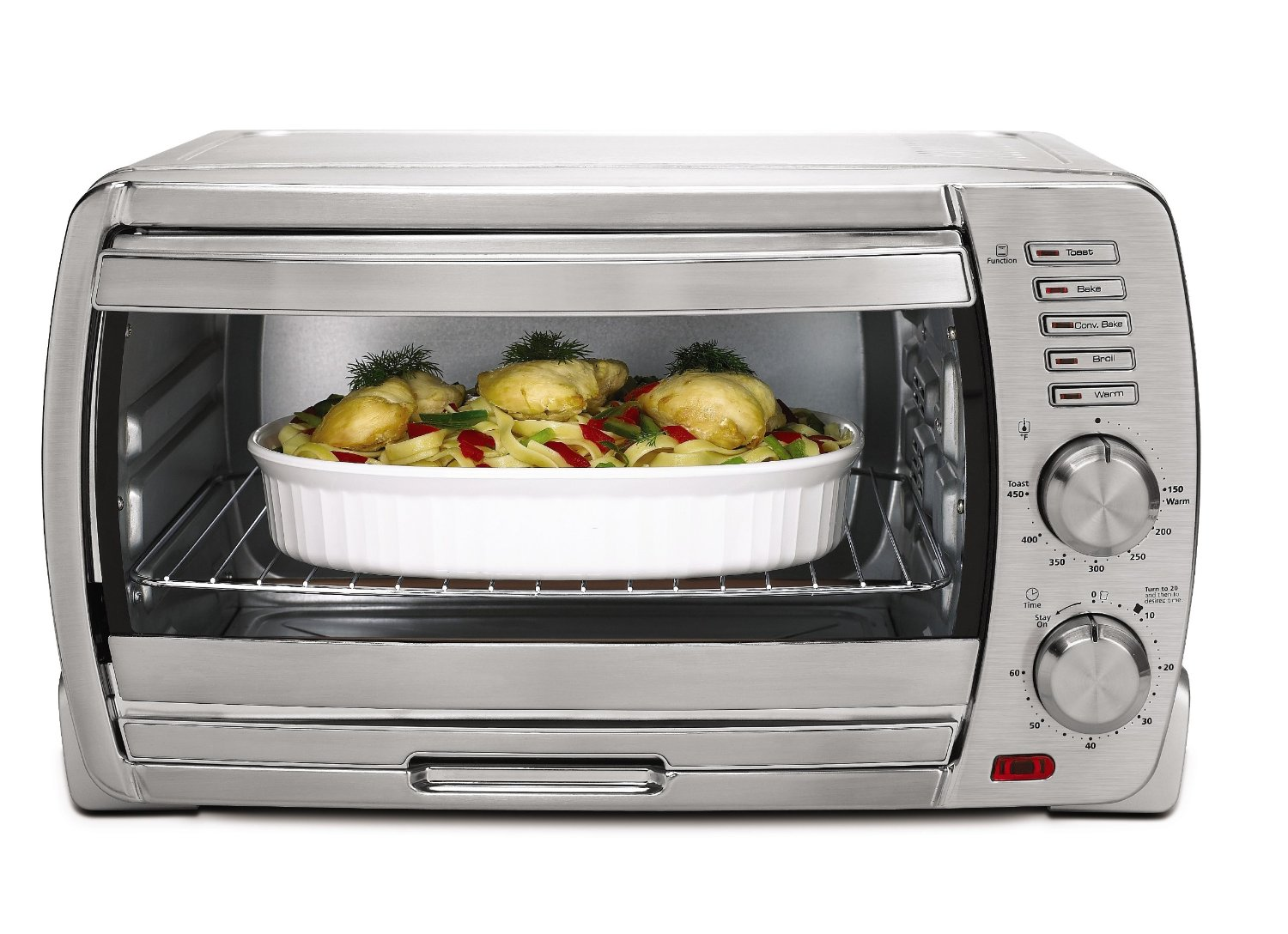 itm large digital toaster function convection kitchen rotisserie oven cooking
