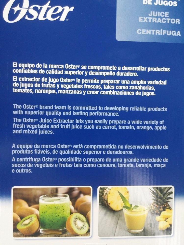 Oster - Oster 400W Juicer 220-240 Volt Juice Extractor 220V 240V For ...