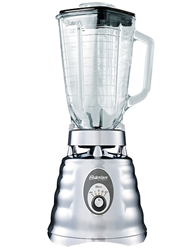 Oster Chrome 220 Volt 3 Speed Blender with Glass Jar 600W