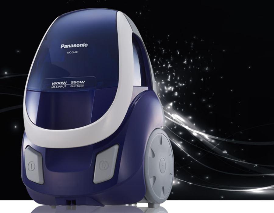 Panasonic Mc Cl431 220 Volt Blue Bagless Canister Vacuum