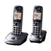 Panasonic 220 Volt KX-TG2522 Cordless Phone 2-Handset w/Answering System 220V/240V Export Only - KX-TG2522